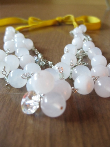 White Quartz necklace - doesn't have a name yet